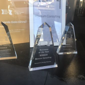 2018 Bendigo Business of the Year - Maxsum Awards