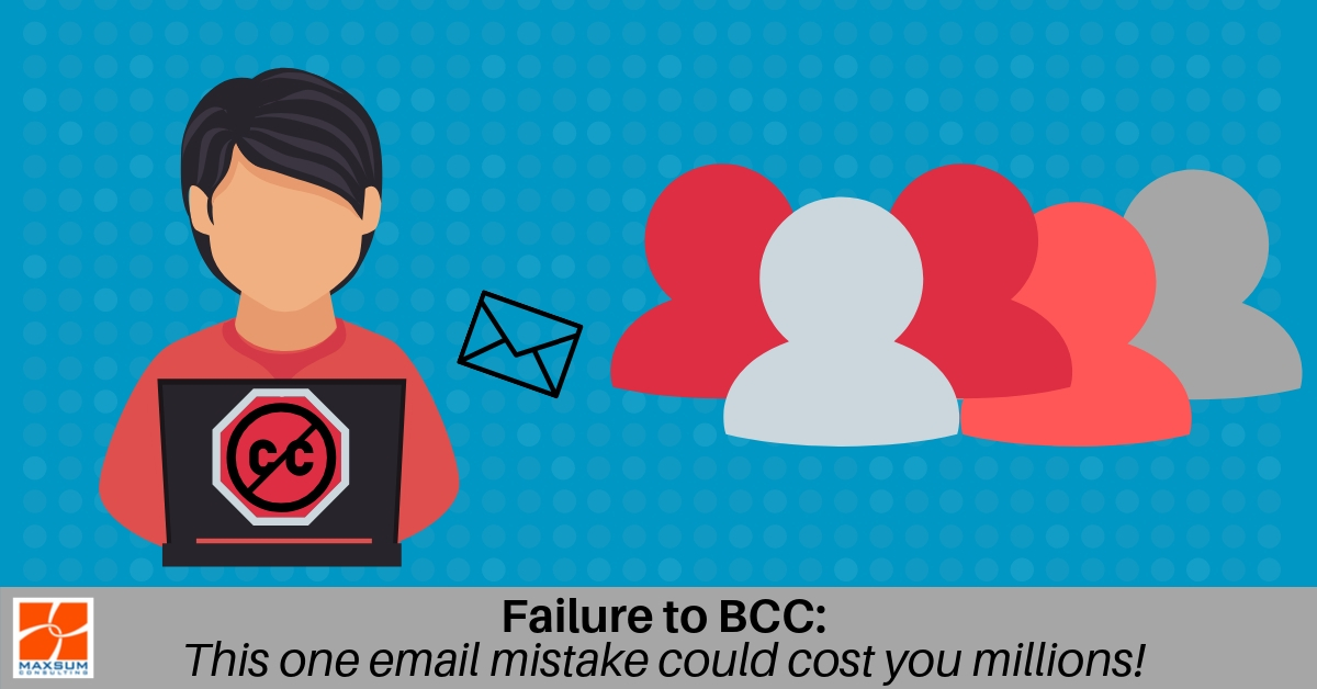 Failure to BCC
