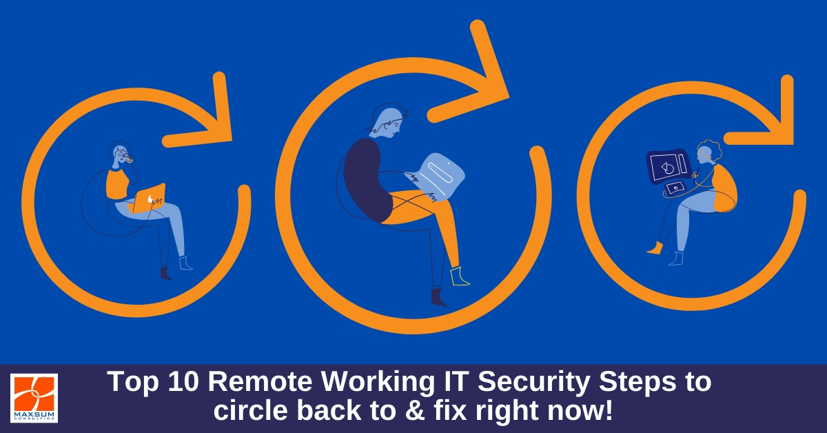 remote working IT security